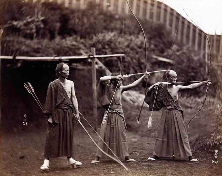 Cung thủ người Nhật, 1860