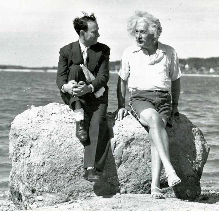 Albert Einstein mùa hè năm 1939