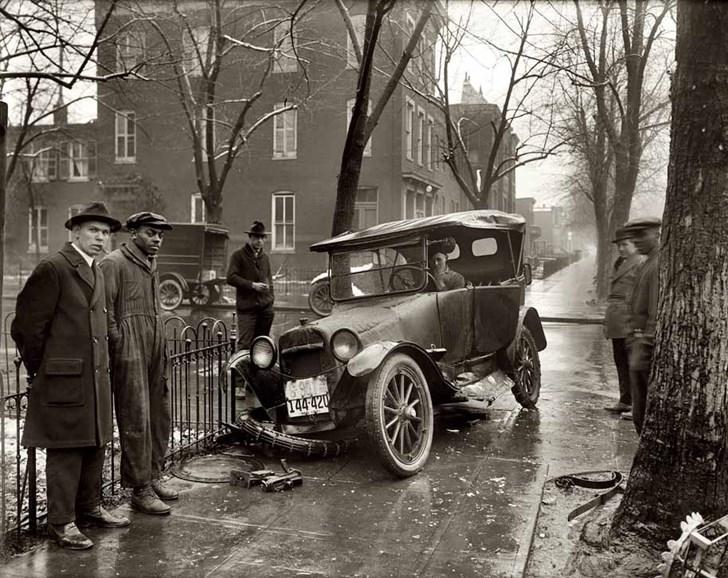 Tai nạn xe hơi tại Washington, 1921
