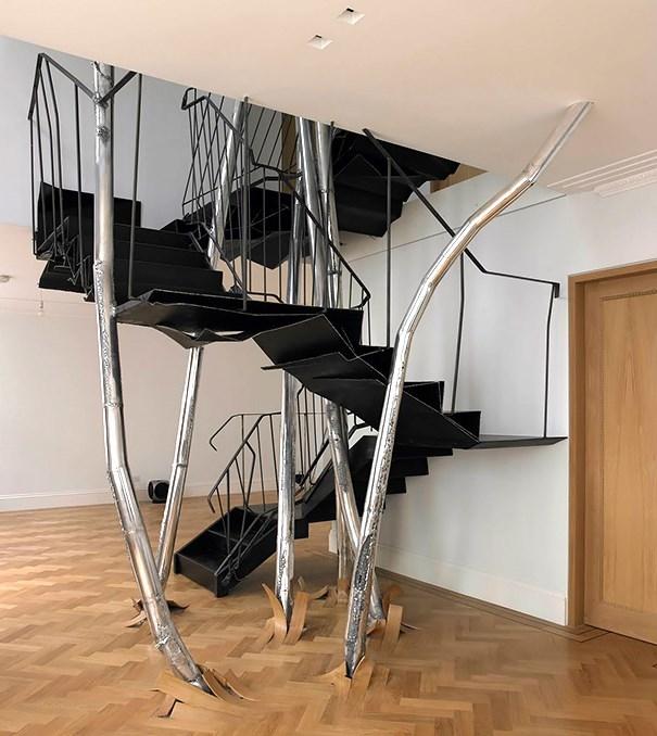Những chiếc cầu thang độc đáo có thể bạn chưa từng thấy