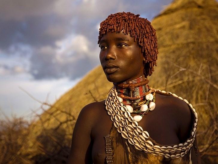 Người phụ nữ Hamar, Ethiopia