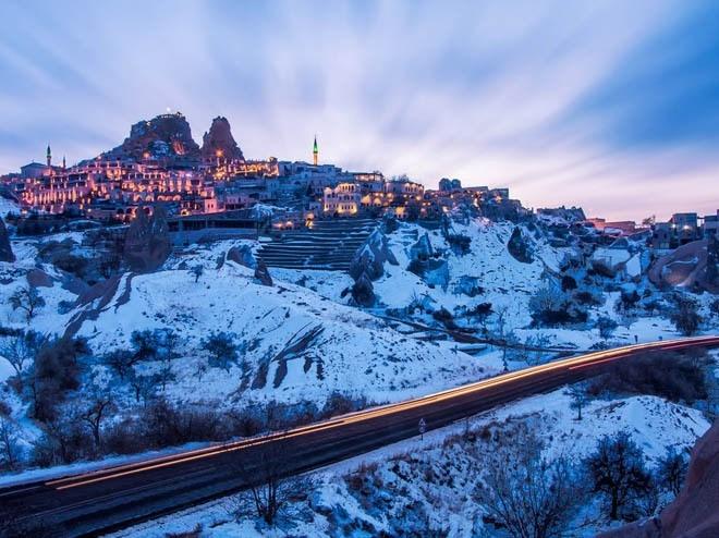 Lâu đài Uchisar, Nevsehir, Thổ Nhĩ Kỳ<br />