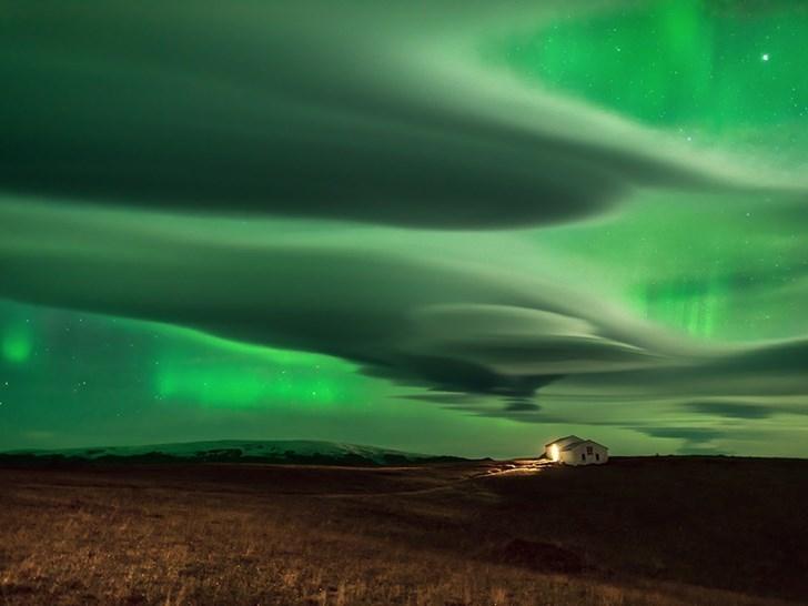 Bắc Cực quang, Iceland