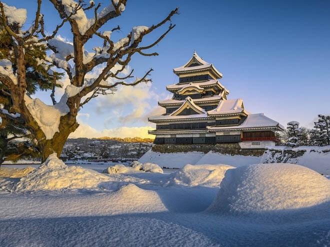 Lâu đài Matsumoto, Matsumoto, Nhật Bản<br />