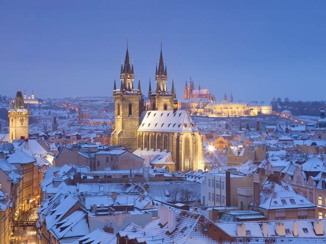 Lâu đài Hradcany, Prague, Cộng hòa Czech<br />