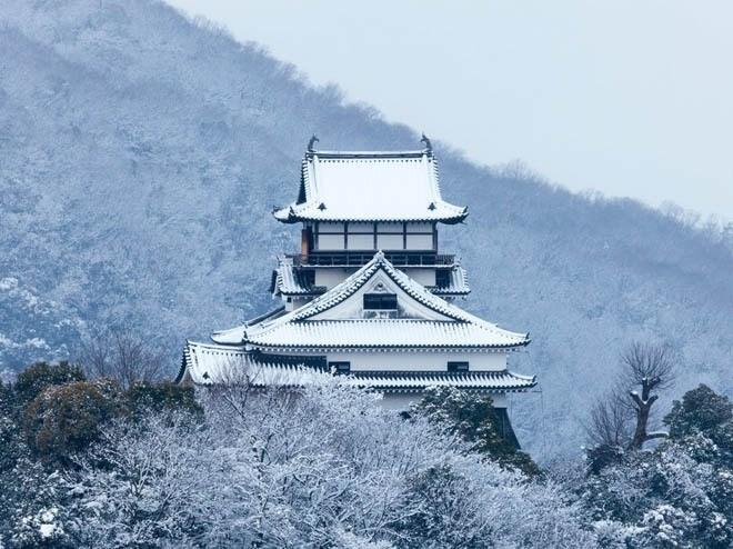 Lâu đài Inuyama, Inuyama, Nhật Bản<br />