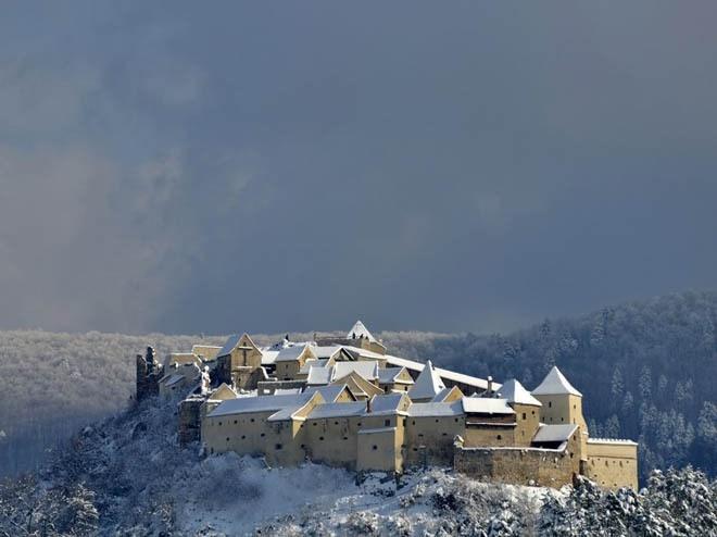 Lâu đài Rasnov, Brasov, Romania<br />