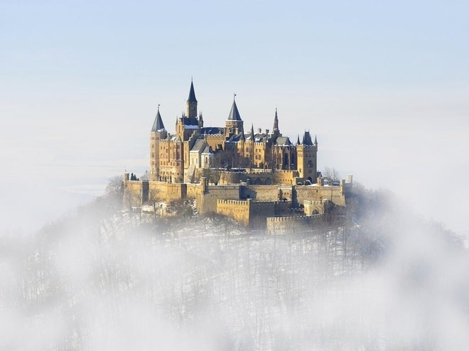 Lâu đài Hohenzollern, Hohenzollern, Đức<br />