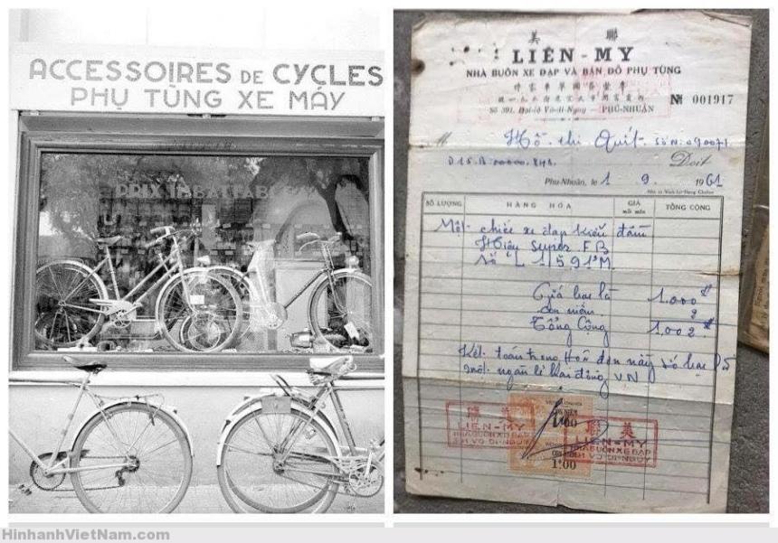 Dân Saigon còn gọi Xe đạp là xe máy