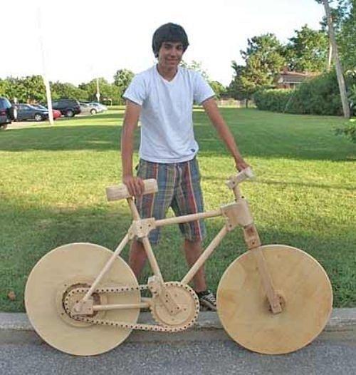 Siêu hài hước những đồ vật tinh xảo làm từ gỗ - Hình 18