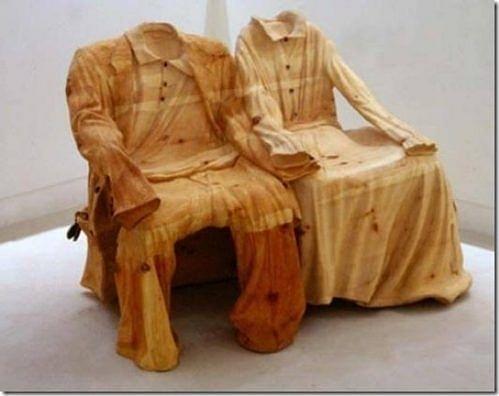 Siêu hài hước những đồ vật tinh xảo làm từ gỗ - Hình 5