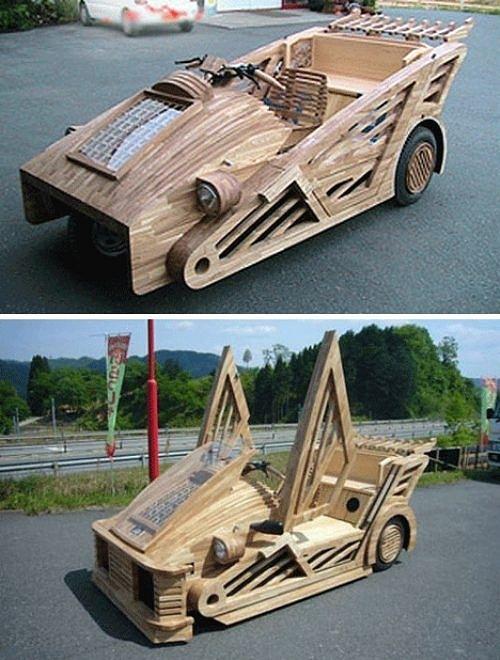 Siêu hài hước những đồ vật tinh xảo làm từ gỗ - Hình 9