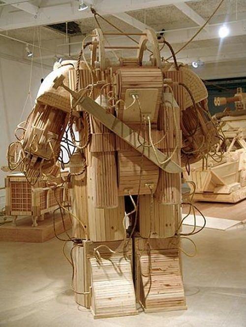 Siêu hài hước những đồ vật tinh xảo làm từ gỗ - Hình 4