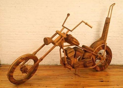 Siêu hài hước những đồ vật tinh xảo làm từ gỗ - Hình 22