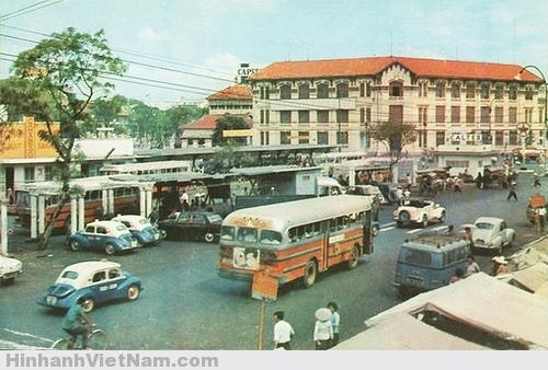 Xe lam là phương tiện giao thông phổ biến trước năm 1975