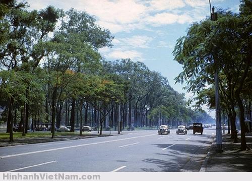 Đường Sài Gòn xưa