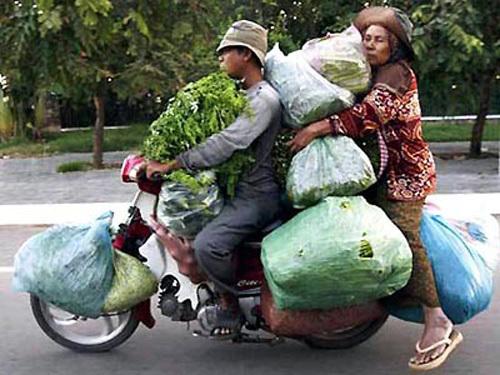 Các kiểu xe cộ siêu hài chỉ có ở Việt Nam - Hình 6