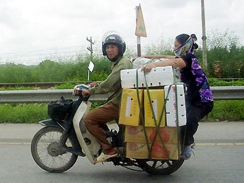 Các kiểu xe cộ siêu hài chỉ có ở Việt Nam - Hình 10