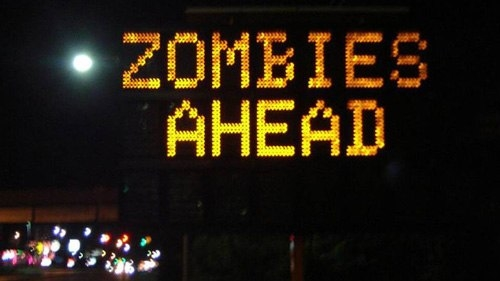 Những biển báo giao thông hài hước - Hình 10