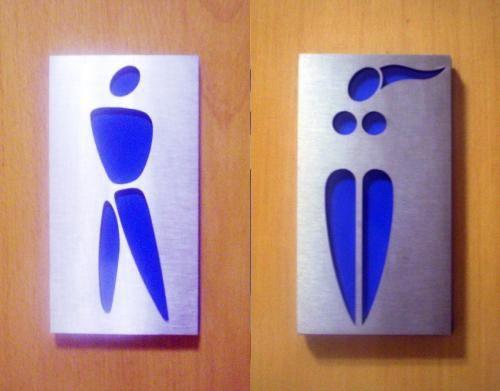 Những biển báo nhà vệ sinh hài hước - Hình 4