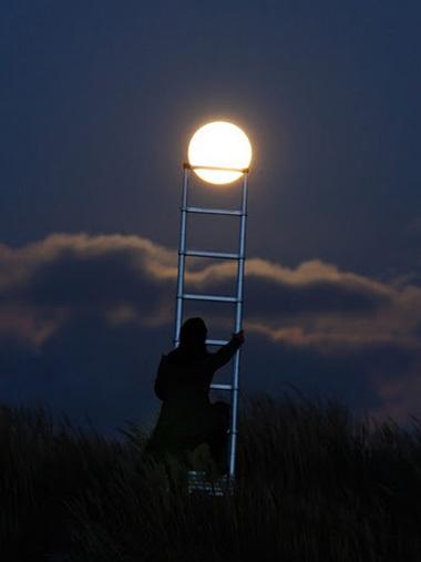Sáng tạo với ảnh chụp mặt trăng - Hình 8