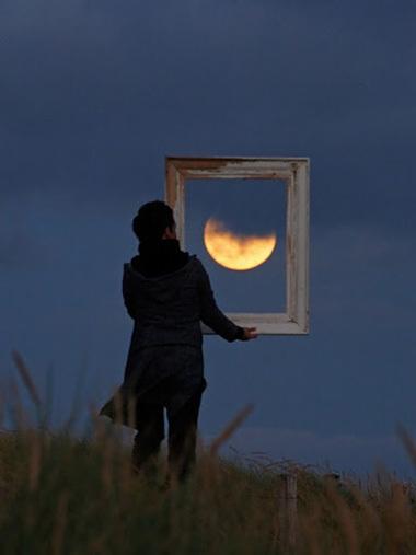Sáng tạo với ảnh chụp mặt trăng - Hình 7