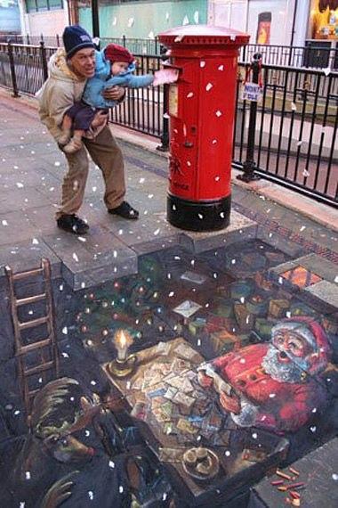 Tranh 3D đường phố vui nhộn - Hình 13