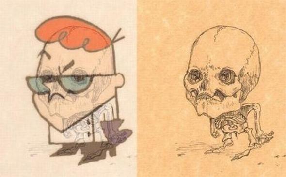 Giải phẫu học nhân vật hoạt hình - Hình 1
