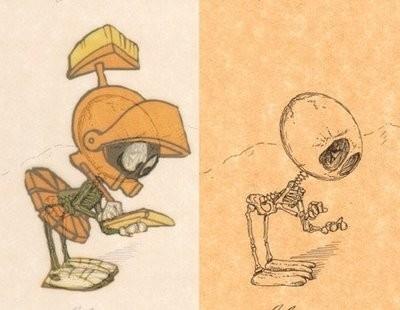 Giải phẫu học nhân vật hoạt hình - Hình 4