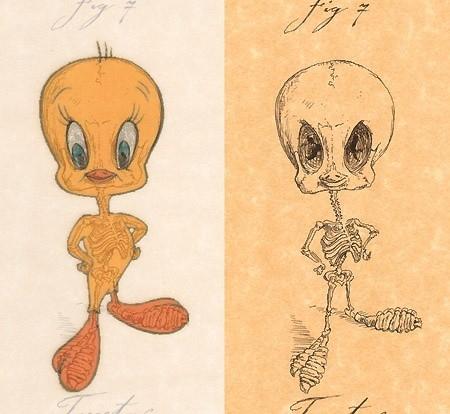 Giải phẫu học nhân vật hoạt hình - Hình 9