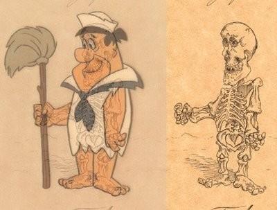 Giải phẫu học nhân vật hoạt hình - Hình 2