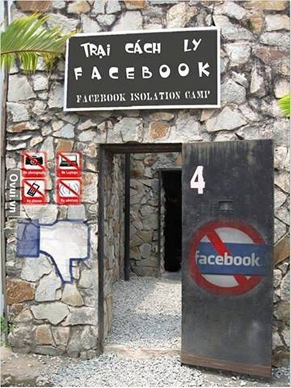 Nghiện Facebook dưới góc nhìn biếm họa - Hình 9