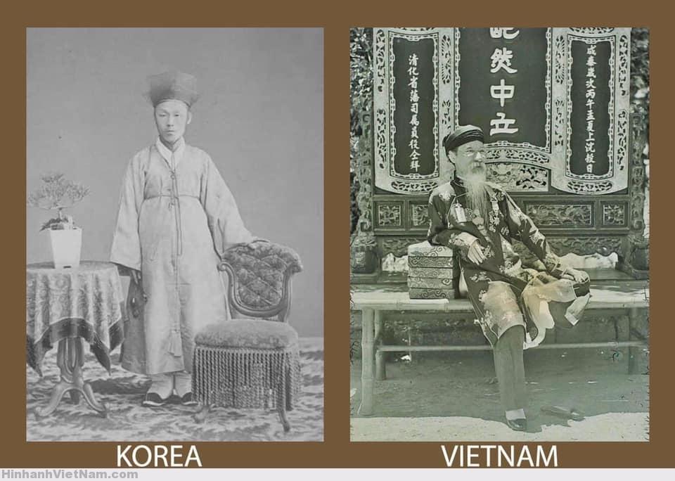 thường phục của quan chức Triều Tiên và Nguyễn