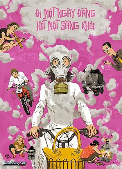 Giao thông Việt Nam qua tranh biếm họa - Hình 11