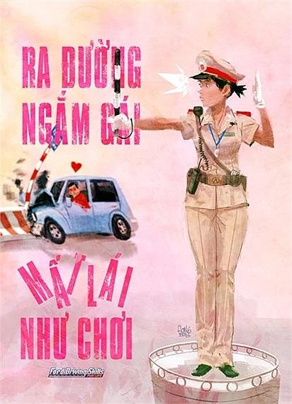 Giao thông Việt Nam qua tranh biếm họa - Hình 14