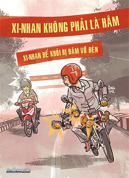 Giao thông Việt Nam qua tranh biếm họa - Hình 17
