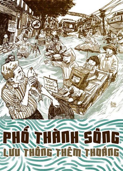 Giao thông Việt Nam qua tranh biếm họa - Hình 4