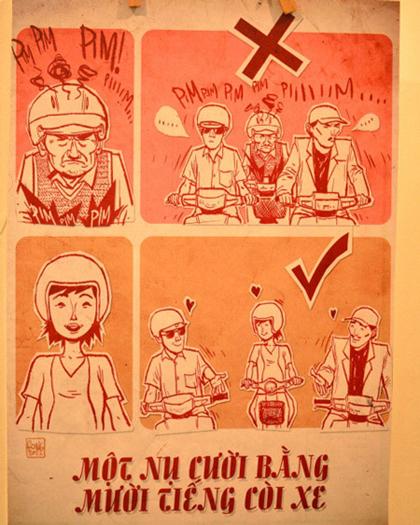 Giao thông Việt Nam qua tranh biếm họa - Hình 6