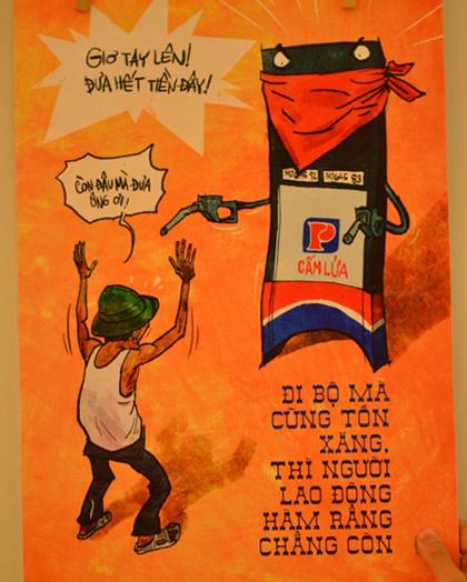 Giao thông Việt Nam qua tranh biếm họa - Hình 7