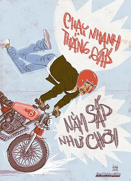 Giao thông Việt Nam qua tranh biếm họa - Hình 8