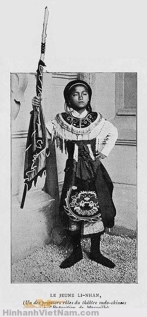 L'INDOCHINE 1906 - Le Jeune Li-Nhan