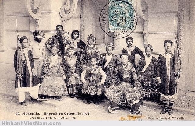 Đoàn hát bội ở hội chợ triển lãm thuộc địa Marseille 1906