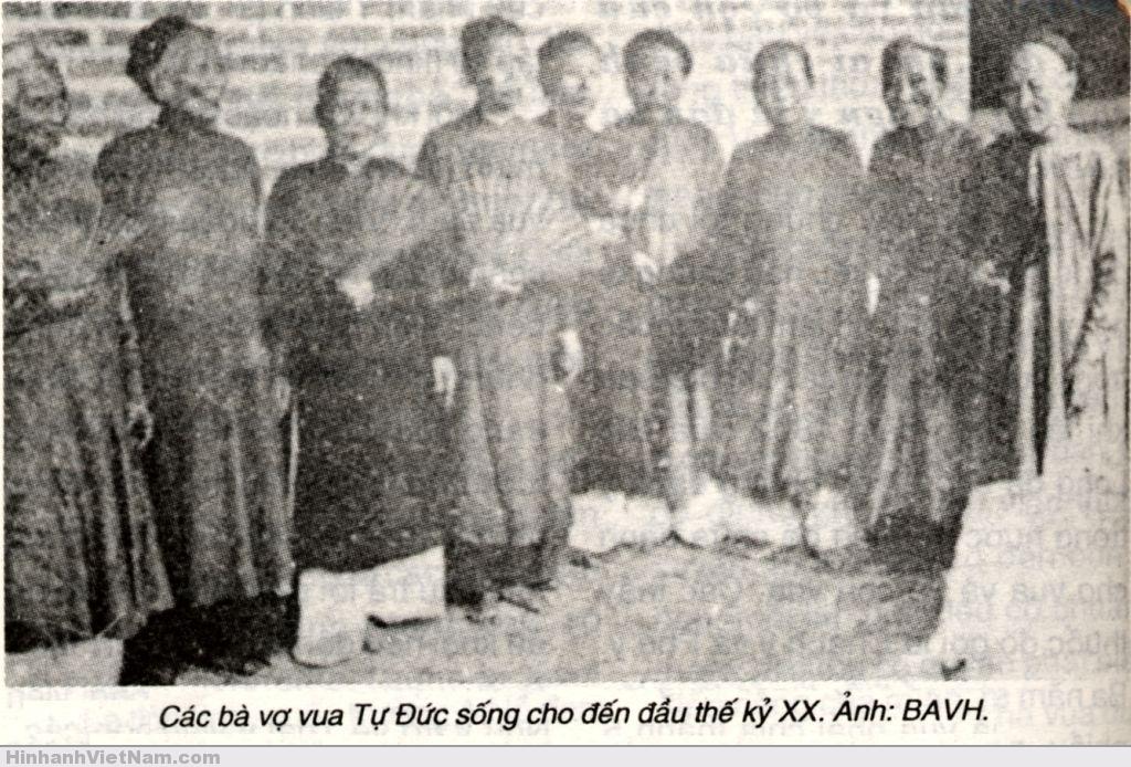 Các bà vợ vua Tự Ðức sống đến đầu thế kỷ thứ 20