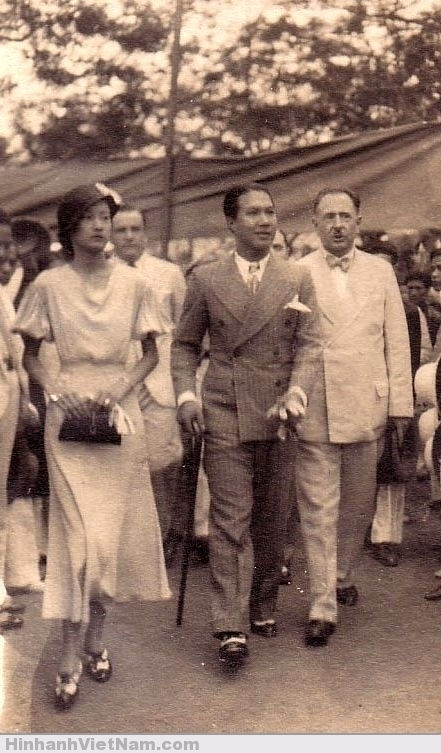 Vua Bảo Ðại và Hoàng hậu Nam Phương