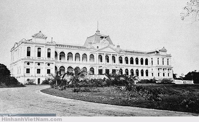 Dinh Toàn quyền. dinh Norodom. Dinh Độc Lập ( sau này ) (1866)