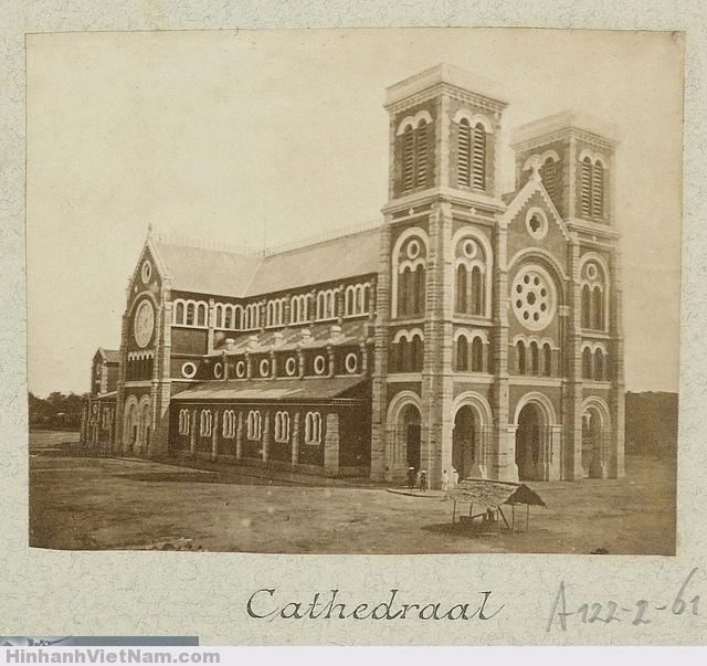 Nhà thờ Đức Bà Sài Gòn The Cathedral of Saigon 1888