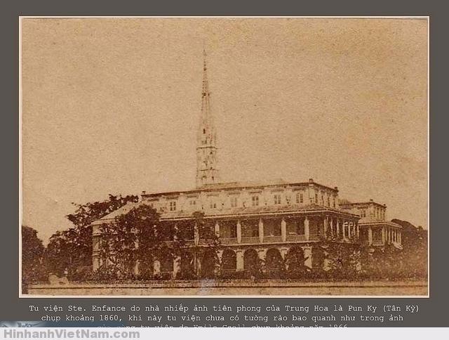 Tu viện Sainte Enfance sài gòn