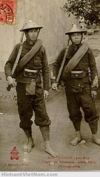 Lính đông dương ở Lào-Cai