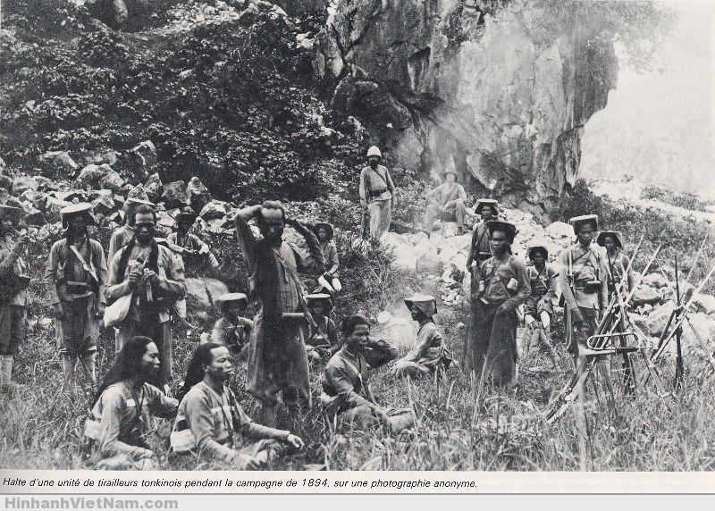 Một cuộc dừng quân trong chiến dịch năm 1894