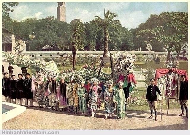 Đoàn nghệ sĩ Nam Kỳ tại Hội chợ Thuộc địa Paris 1931